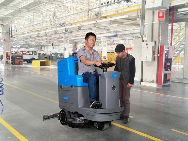 洗地机如何选购--工厂车间篇