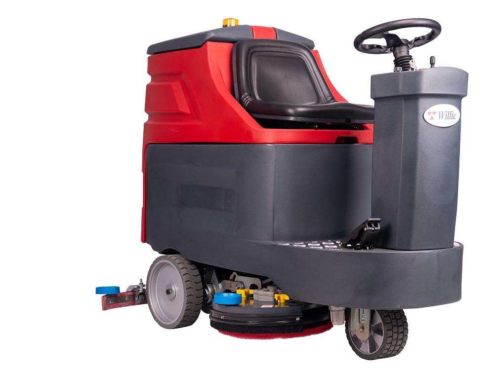 驾驶式洗地机W7