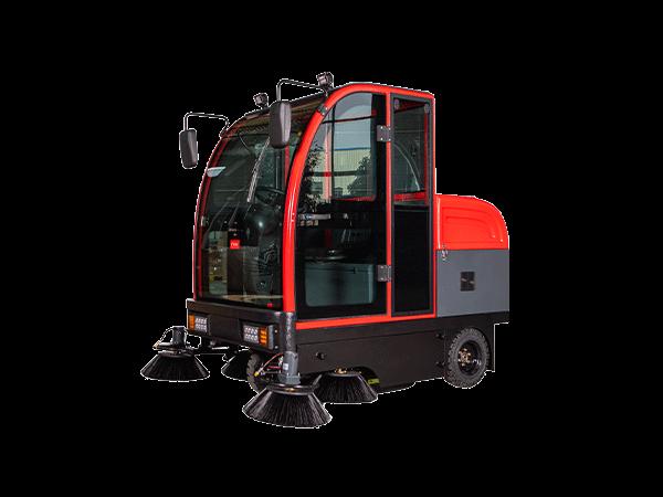 电动驾驶式扫地车WS210